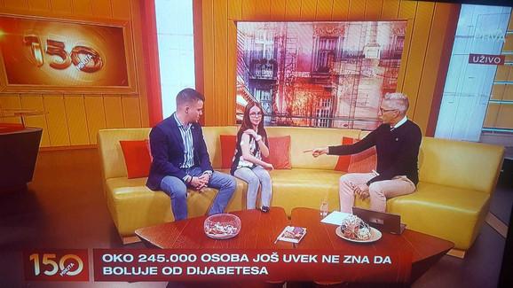 Dejan i Lana Pantelić javno pričaju o dijabetesu