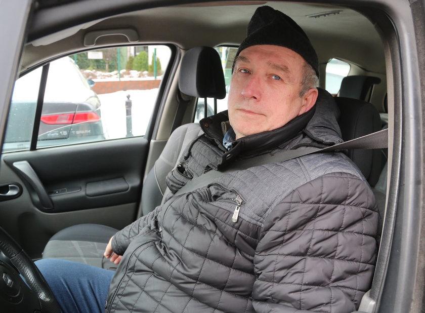 Ryszard Wesołowski (64 l.) kierowca
