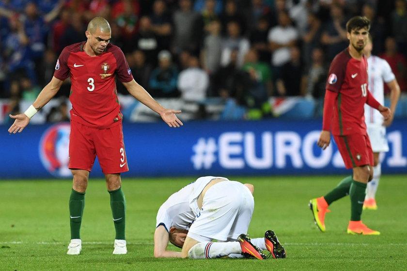 Pepe znów to zrobił, zobacz zwierzęcy faul Portugalczyka! WIDEO