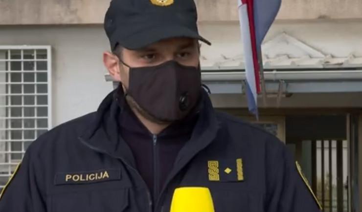 Policajac u Zadru