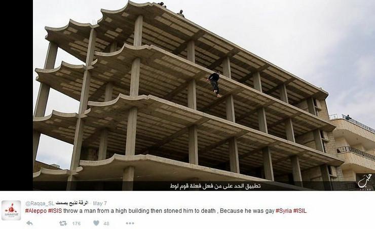 ISIS pogubljenje, Raka