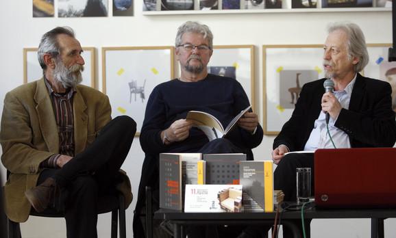 Nedeljko Mamula, Branko Anđić, Vladislav Bajac