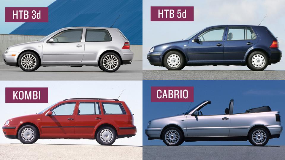 Nowoczesna architektura Volkswagen Golf IV - ile jest dziś wart? NC14