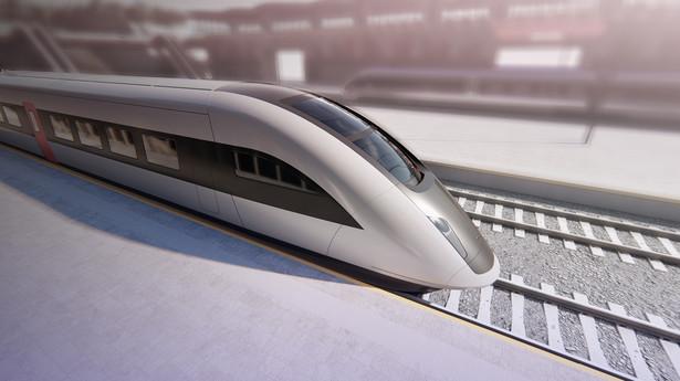 Pociąg dużych prędkości. Źródło: materiały prasowe PESA