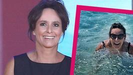 Anna Korcz kusi w stroju kąpielowym. Za rok skończy 50 lat! Wygląda na swój wiek?