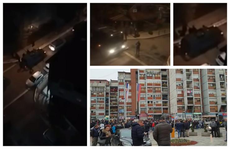 Хапшење Срба на северу КиМ, у Митровици напето, протести у српским местима