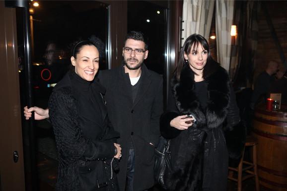 Igor Đorđević, Zorana bečić i Sloboda Mićalović, kumovi