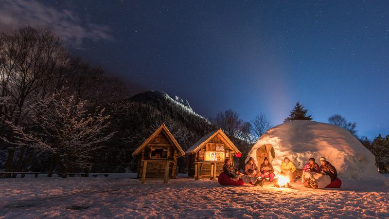 Zima w Słowenii