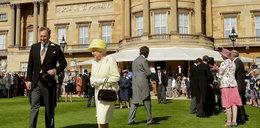 Pierwsze garden party u królowej po narodzinach Charlotte