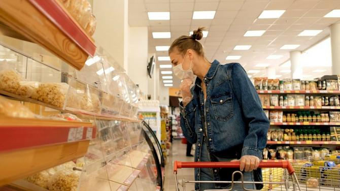 Kupovina namirnica nije rizična