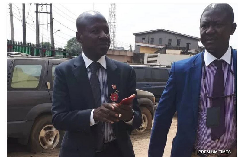 Ibrahim Magu was released from prison custody on Wednesday evening (Premium Times)