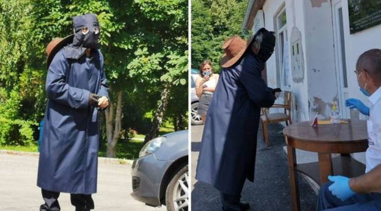Hrvatska izbori maska