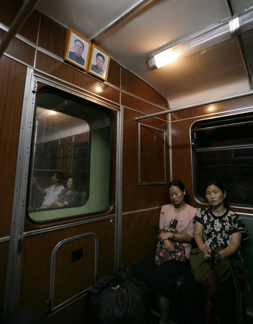 Metro w Pjongjangu