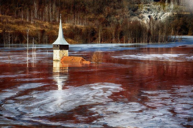 potopljena mesta geamăna romania profimedia-0425351333