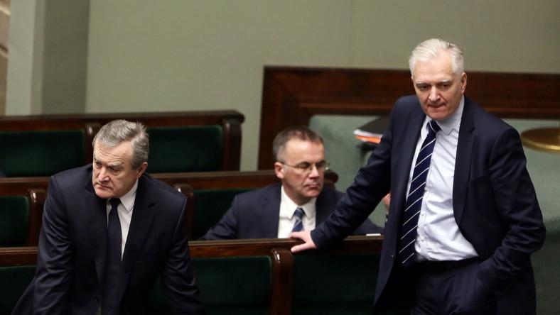 Piotr Gliński, Jarosław Sellin, Jarosław Gowin