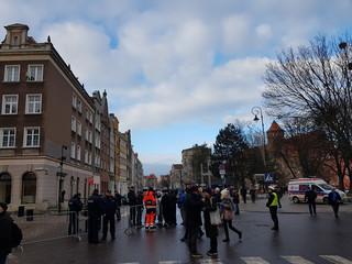 Pogrzeb Pawła Adamowicza. Zamknięte ulice Gdańska, do świątyni można wejść tylko z identyfikatorem