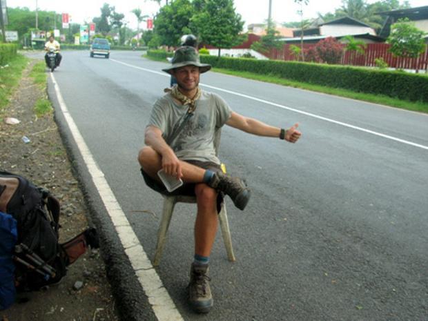 Paweł Kilen w Indonezji