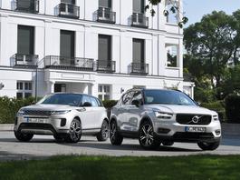 Range Rover Evoque i Volvo XC40 - dwa oblicza luksusu