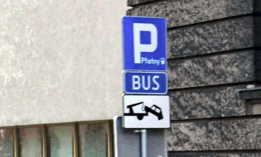 Poznań, parking płatny, autobusy