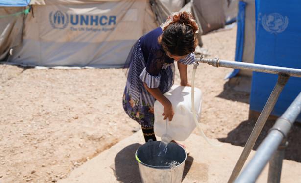Projekt PAH ma na celu zapewnienie stałego dostępu do pitnej wody mieszkańcom obozów dla osób wewnętrznie przemieszczonych w Iraku.