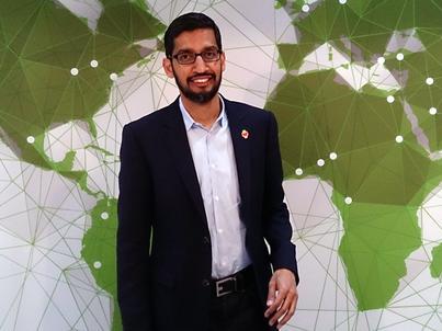 Sundar Pichai, dyrektor wykonawczy Google