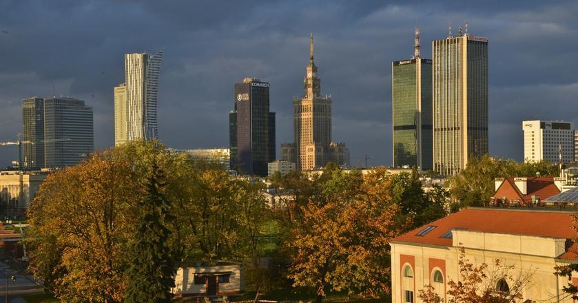 Najwięcej wysokich budynków znajduje się rzecz jasna w Warszawie