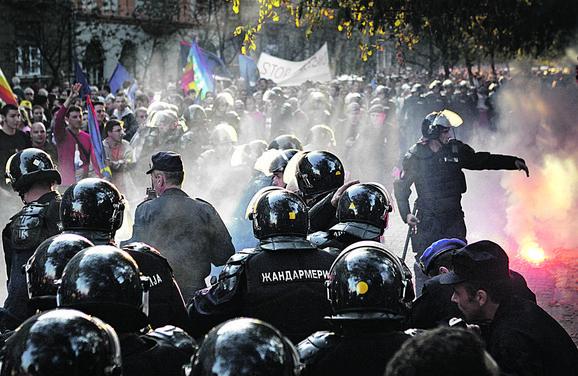 Policija je 2008. godine morala da reaguje zbog ogromnog nasilja
