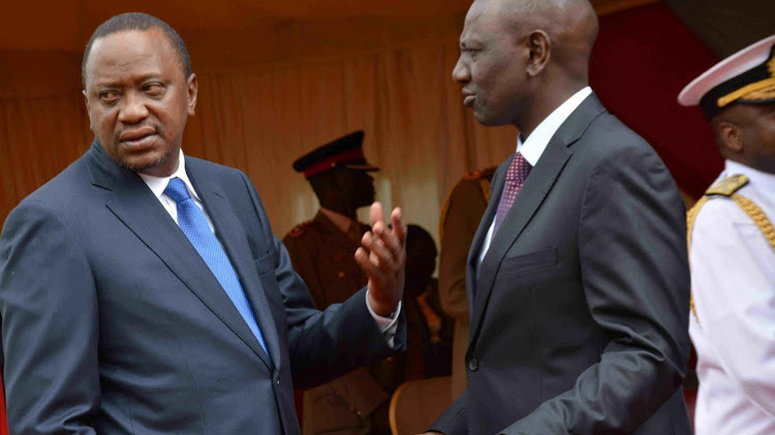 Uhuru, DP Ruto clash over fight against corruption moments before ...