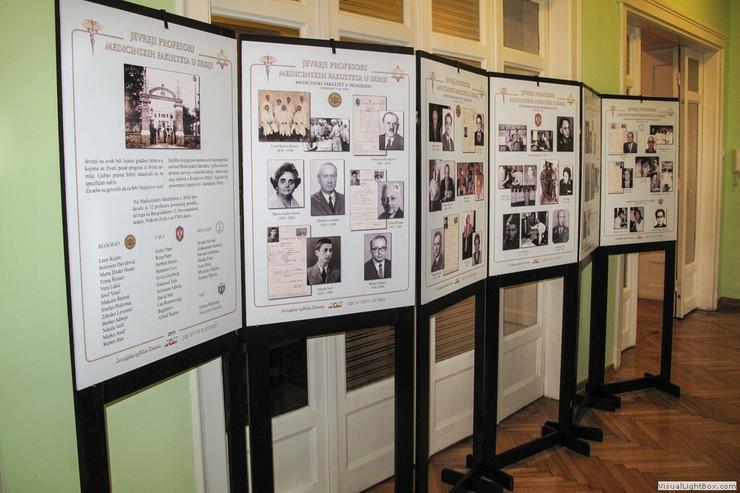 Izložba Jevreji profesori Medicinski fakulteta u Srbiji