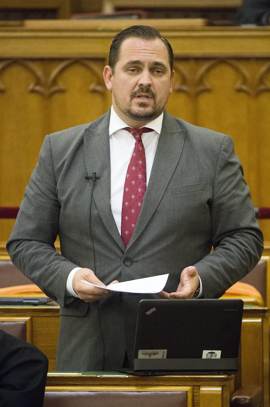 Mengyi Roland idén januárban vonult börtönbe. /Fotó: MTI Koszticsák Szilárd
