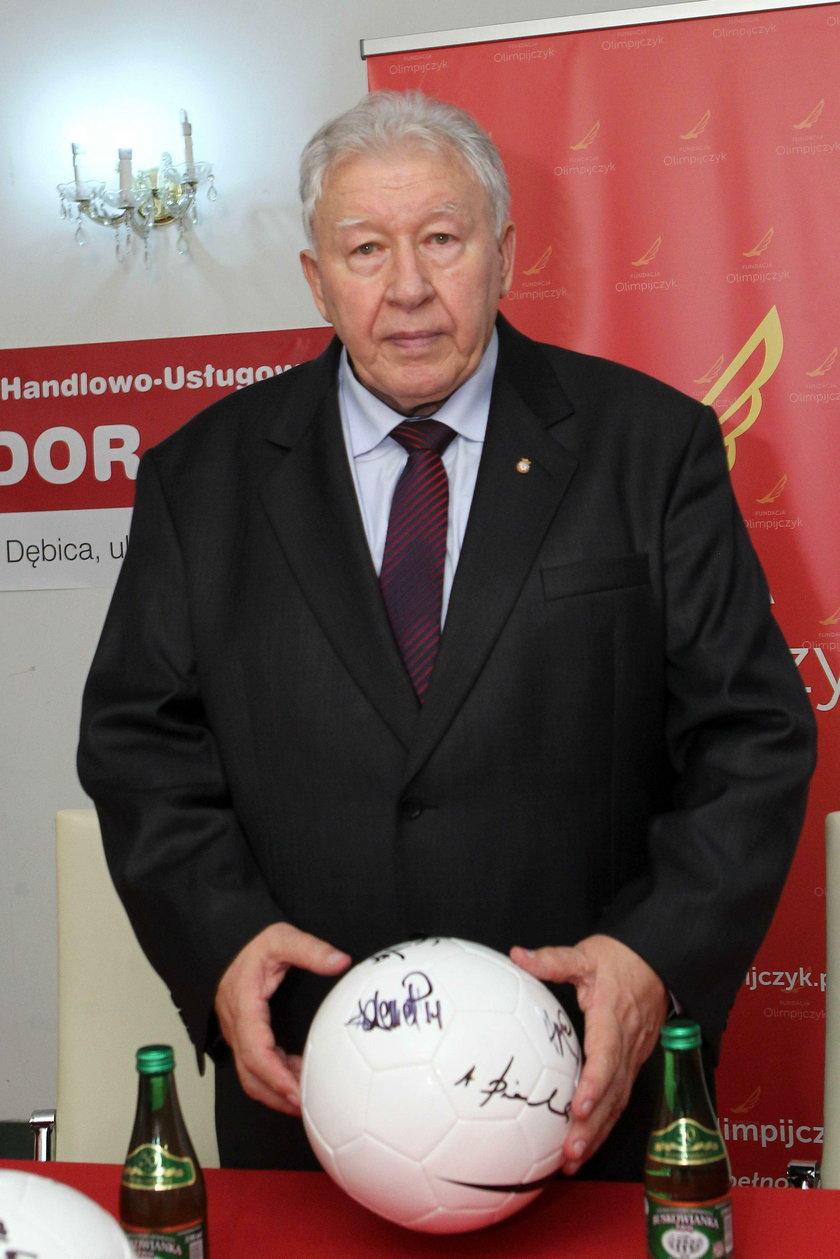 Trener Wojciech Łazarek