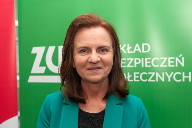 Gertruda Uścińska prezes ZUS