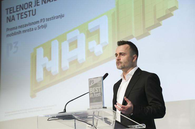 Mike Michel, Generalni direktor Telenora Srbije i Promo