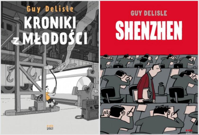 Komiksy Guy'a Delisle