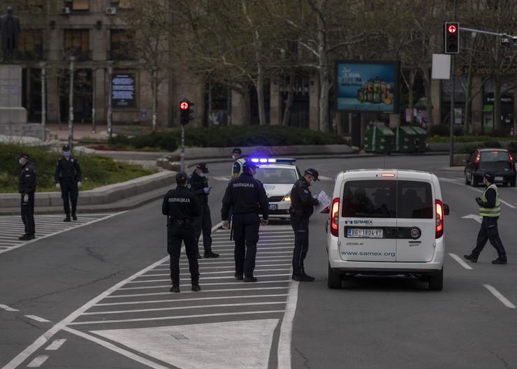 Policija, Beograd, policijski čas, kazne