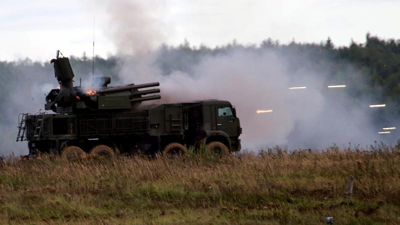 Testy broni w Rosji