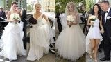Suknia ślubna Szulim kontra kreacje innych gwiazd