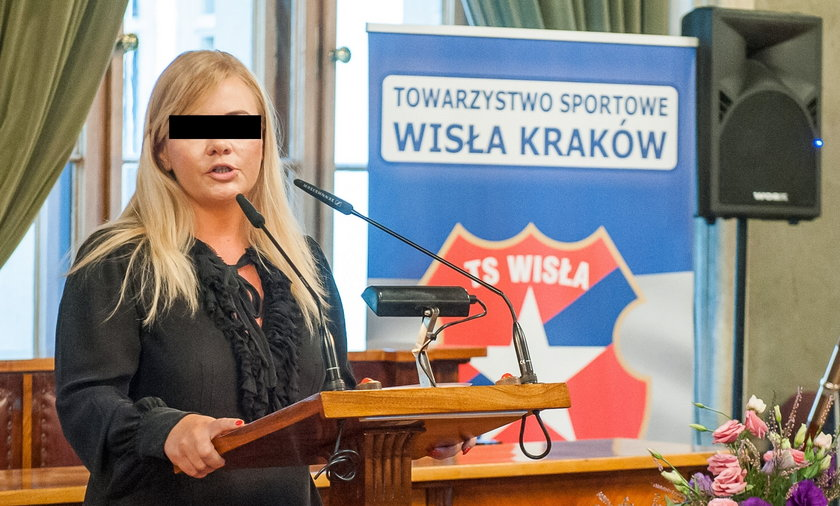 Była prezes Wisły Kraków znów na wolności.