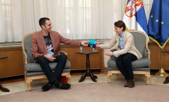 Dušan Kovačević i Ana Brnabić