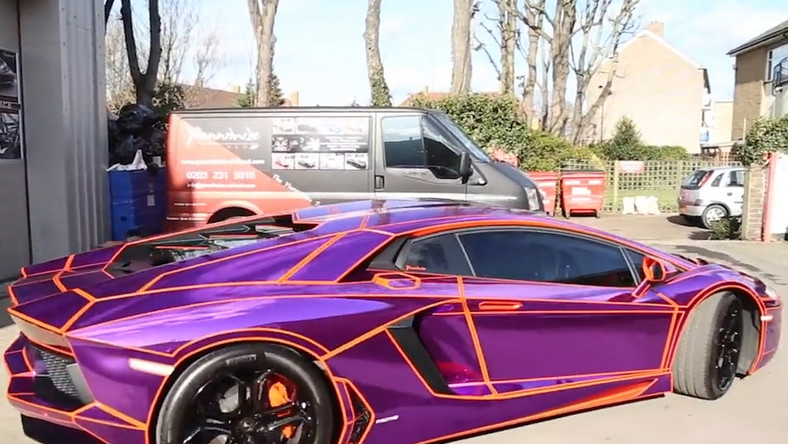Meet The Guy Who Wraps Celebrities Supercars Including Harry