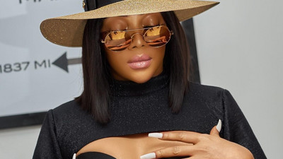 'Nigeria is designed to frustrate you' - Toke Makinwa says as she calls out the fire service