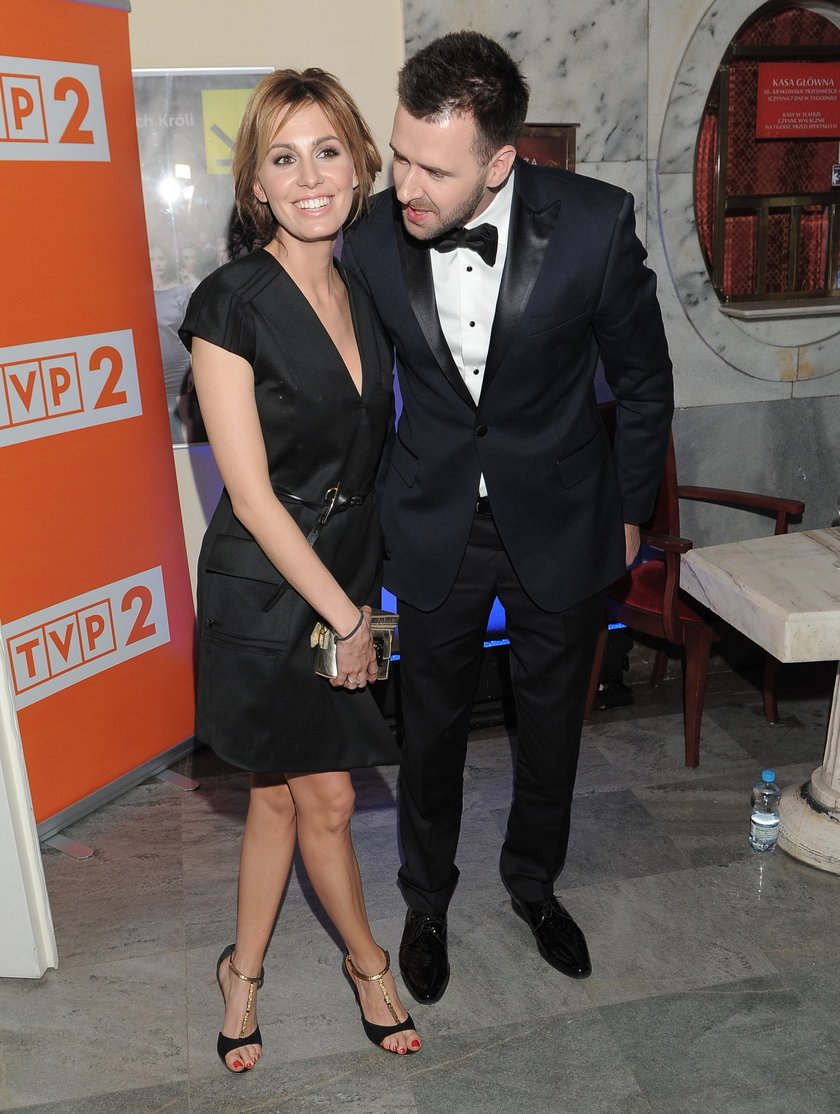 Agnieszka Popielewicz i Grzegorz Hyży