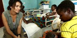 Dominika Kulczyk pomaga chorym maluchom w afrykańskim Malawi
