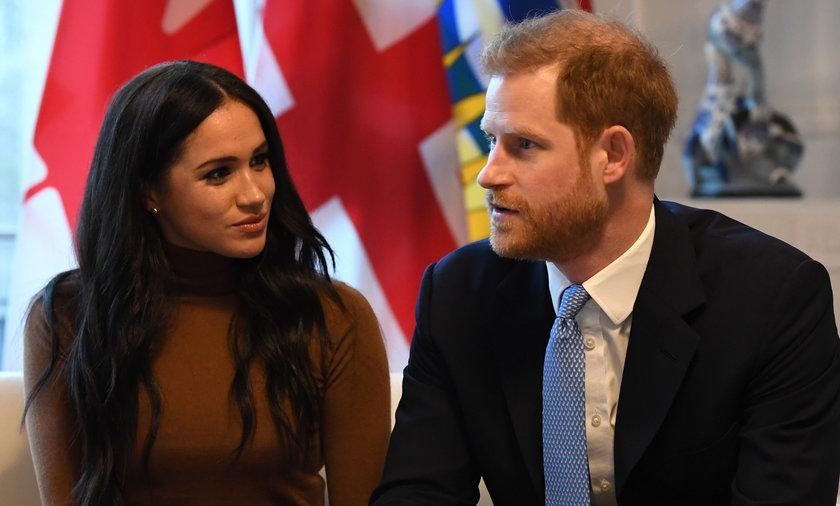 Meghan Markle i książę Harry.