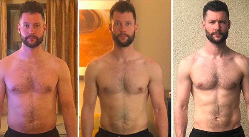 Singer Calum Scott Shows Off Visibly Toned Physique in Instagram Progress Pic