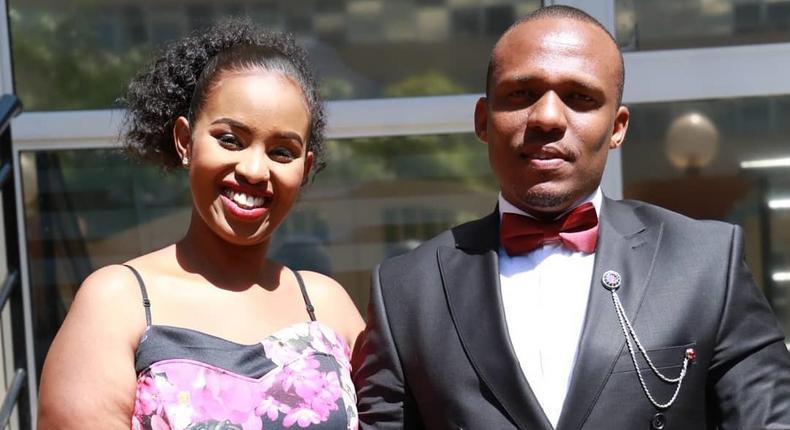 Ben Kitili with his Wife Amina Mude (Instagram)