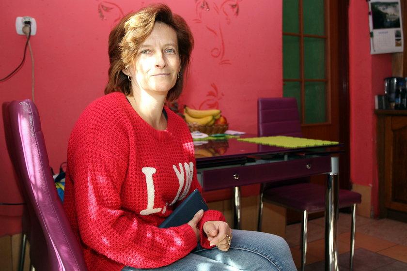Barbara Klimek (44 l.), lokatorka