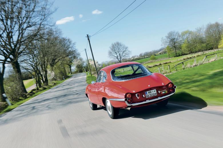 Arcydzieło Scaglionego – dla wielu kierowców Sprint Speciale to najpiękniejsza powojenna Alfa Romeo.