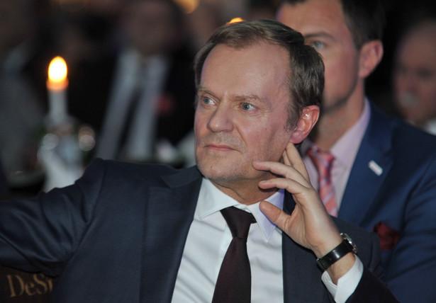 Donald Tusk, fot. Jakub Gruca, / FOKUSMEDIA / NEWSPIX.PL --- Newspix.pl