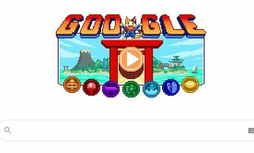 Tokio 2020. Wyjątkowe Google Doodle na start letnich igrzysk olimpijskich.